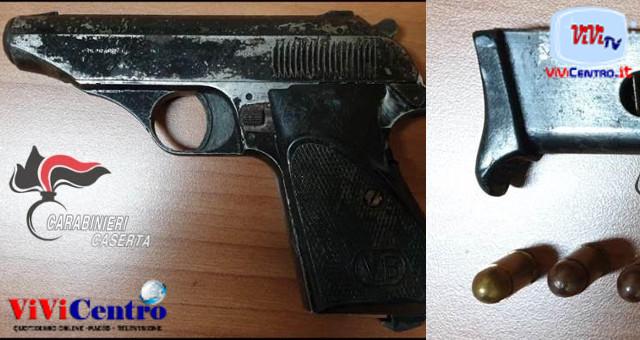 San Marcellino (CE), arresto 51enne per detenzione illegale di pistola