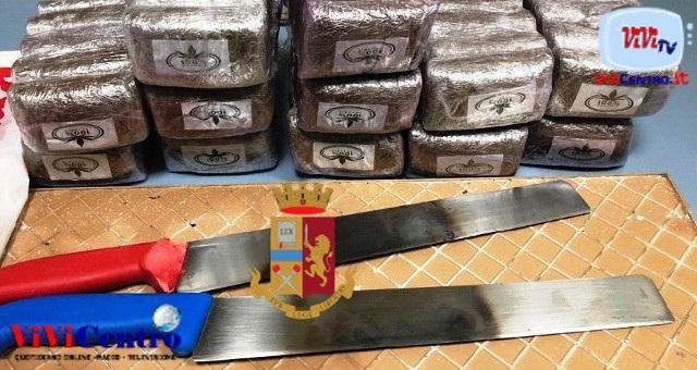 Caserta: arrestati 13 soggetti inseriti nel traffico di stupefacenti