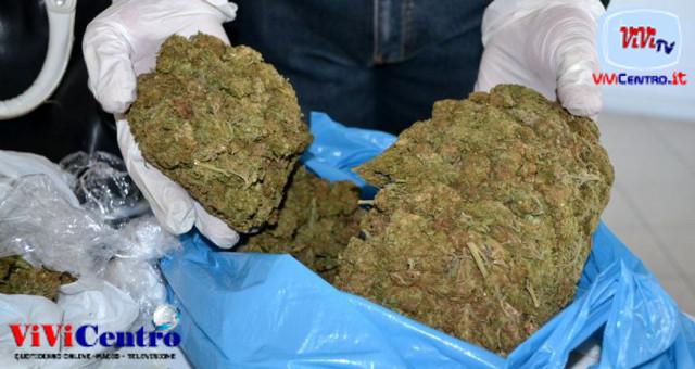Angri (SA), Arrestato in flagranza con oltre 13 Kg di marijuana