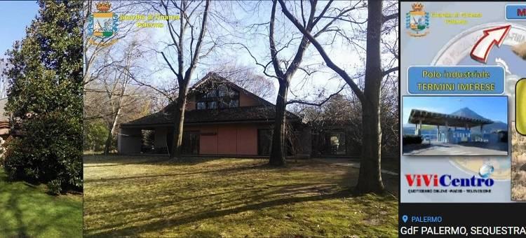 La villa di un valore di oltre 3 milioni di euro dell'ex manager indagato