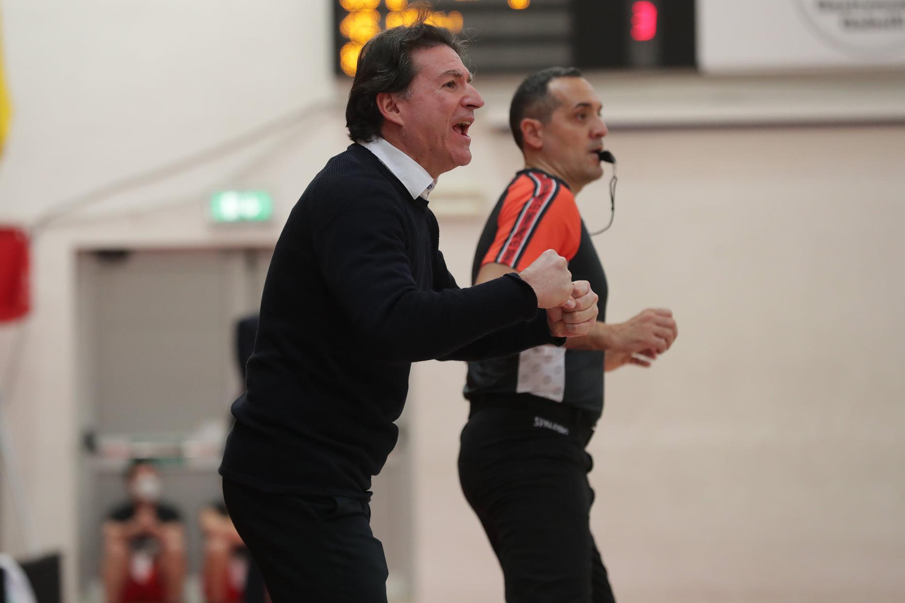 coach Finelli, Givova Scafati