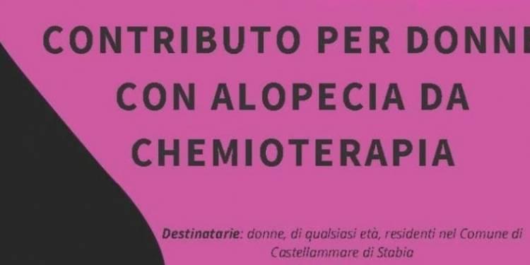 contributo castellammare donne alopecia chemio