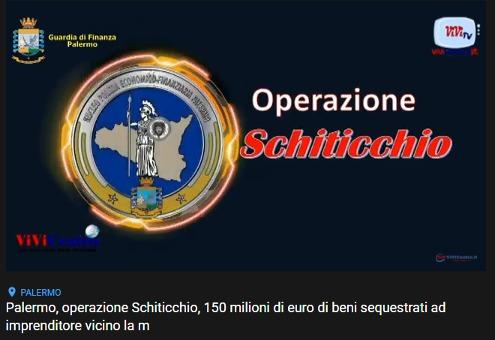 Sequestrati circa 150 milioni di euro dalla GdF di Palermo