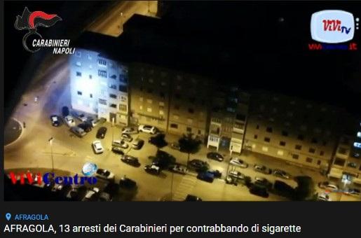 Afragola, 13 arresti per contrabbando (VIDEO)