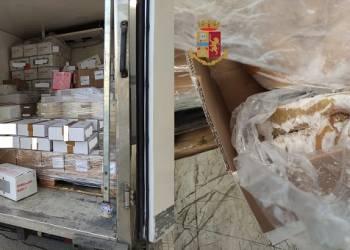 900 kg di alimenti ritenuti pericolosi per la salute pubblica
