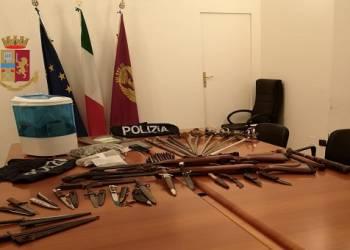Arrestato La Polizia di Stato Palermo per coltivazione di marijuana e possesso di armi