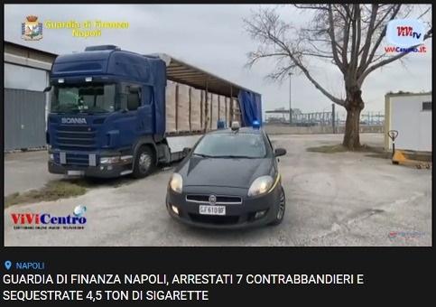Arresti e sequestri per contrabbandieri di sigarette (VIDEO)