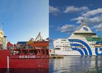 Autorizzato lo sbarco dei 422 migranti. 8 risultati positivi