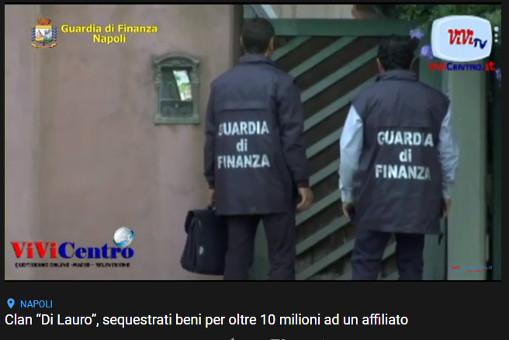 """Clan """"Di Lauro"""", sequestrati beni per oltre 10 milioni ad un affiliato"""