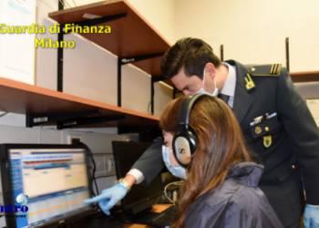 Confiscati 2,5 milioni di euro dalla Gdf di Milano