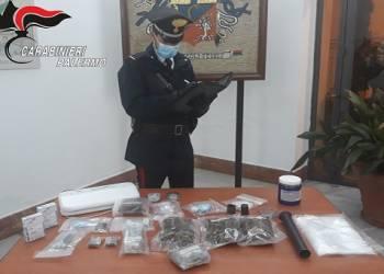 arrestato due persone per detenzione ai fini di spaccio di droga