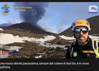 Erutta ancora l'Etna con una nuova attività parossistica