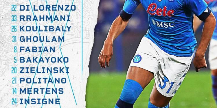 FONTE FOTO: Ssc Napoli Twitter