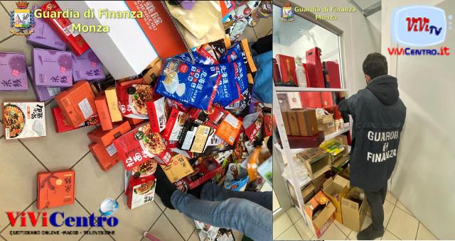 GdF di Monza, sequestrati oltre 26.000 mila prodotti non sicuri