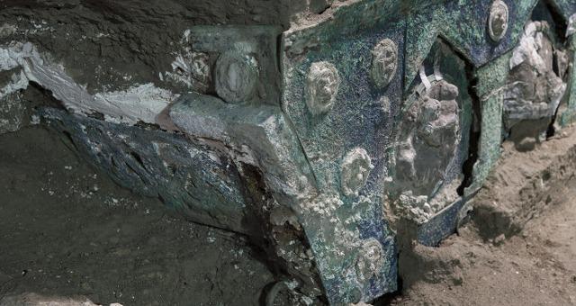 Pompei: rinvenuto carro da parata a quattro ruote in località Civita Giuliana