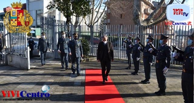 Il Procuratore della Repubblica di Avellino visita le Fiamme Gialle