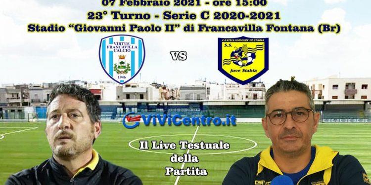 Live Virtus Francavilla Juve Stabia