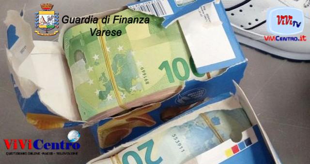 Milano Malpensa, sequestrati euro nascosti in pacchi di pasta
