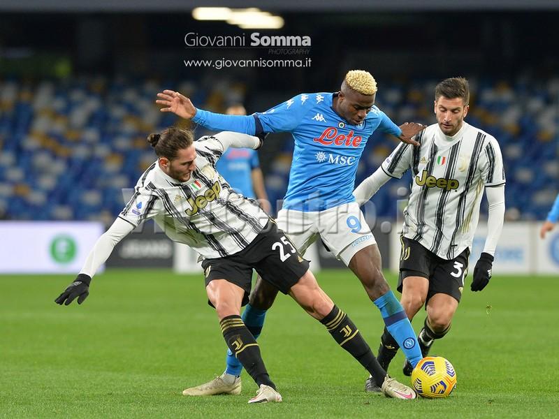 (Pagelle) Osimhen Fotogallery Napoli Juventus Serie A 2020-2021 Calcio