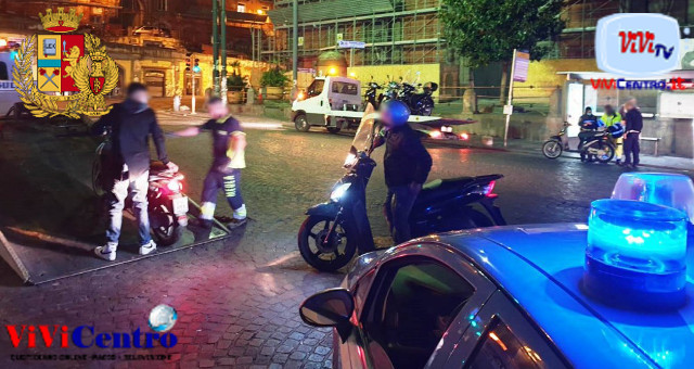 Operazioni Polizia a Mercato, Porta Nolana e Decumani