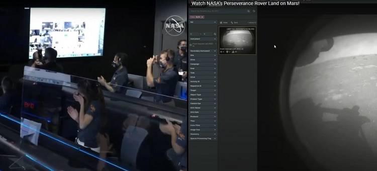 il rover della NASA, Perseverance, è regolarmente atterrato su Marte