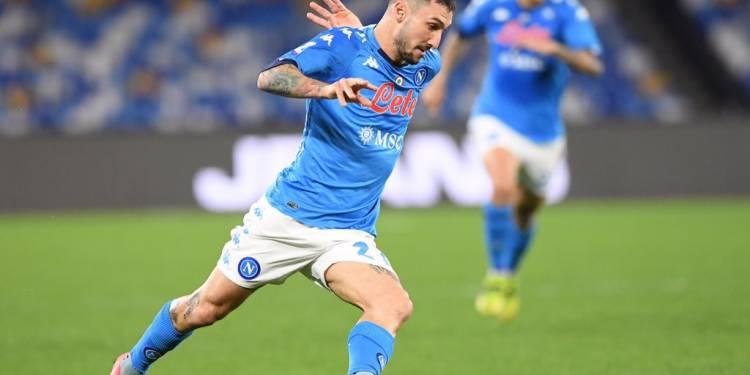 Podio Azzurro Politano Napoli-Benevento credit foto Twitter SSC Napoli