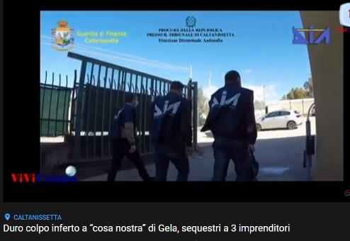 Sequestrati dalla GdF di Caltanissetta