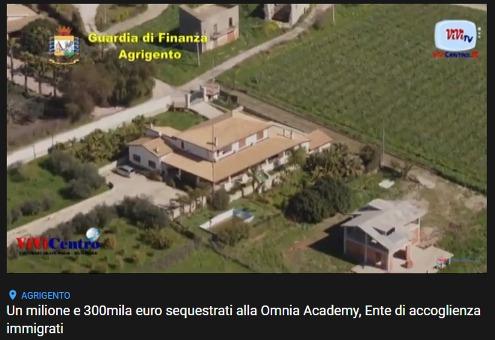 Oltre un milione e 300mila euro sequestrati dalla GdF di Agrigento