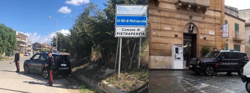 I Carabinieri della Stazione di Pietraperzia (EN) hanno eseguito l'arresto ai domiciliari
