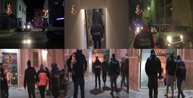 con un blitz ha arrestato quattro malviventi palermitani
