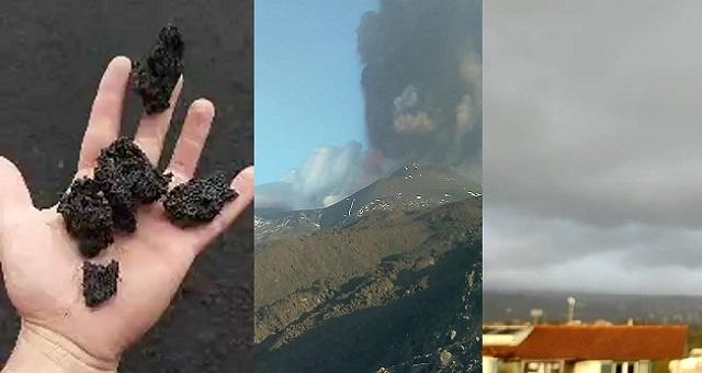 Decima eruzione dell'Etna da quando aveva improvvisamente eruttato a metà febbraio