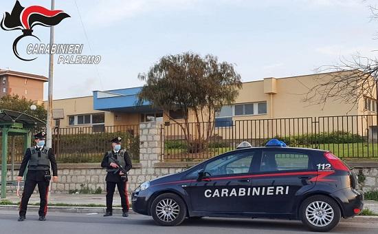 I CC della Stazione Acqua dei Corsari di Palermo hanno arrestato per furto due soggetti