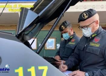 GdF Napoli, 1566 controlli e 159 sanzioni. Un arresto per droga