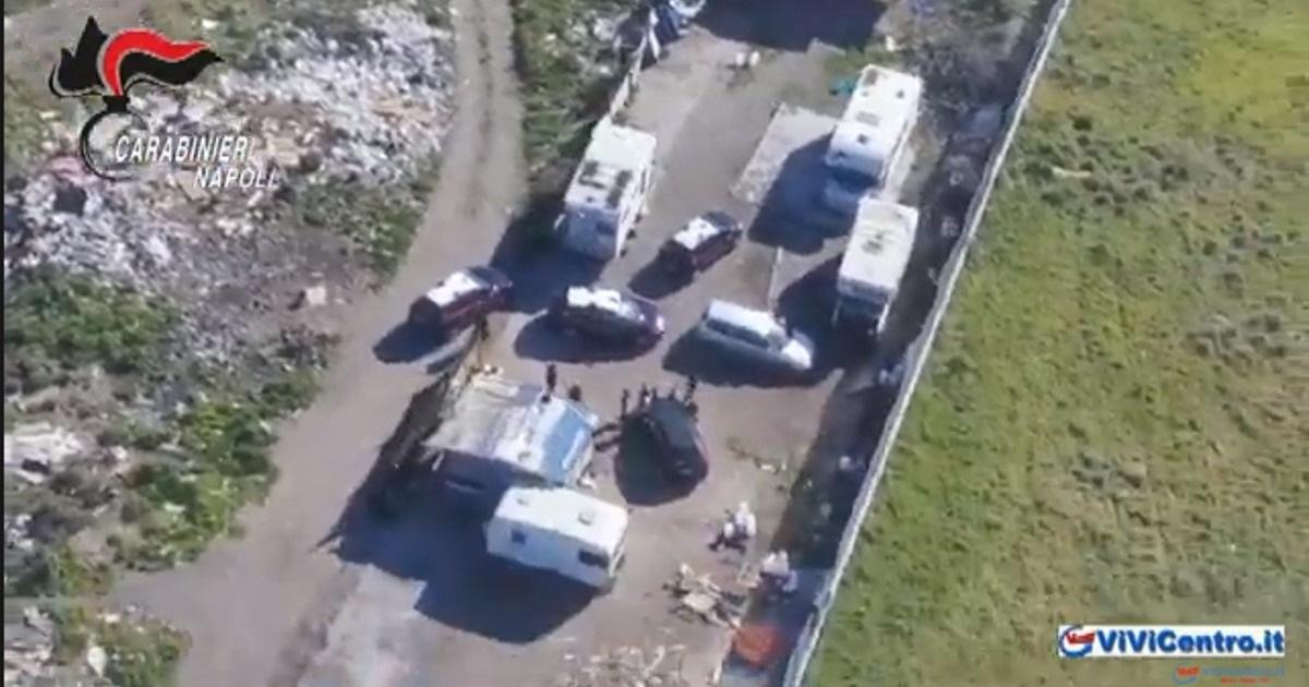 Giugliano in Campania, fermati 2 soggetti per furto e danno ambientale