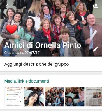 Lettera d'addio alla Prof. Ornella