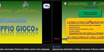 La GdF di Catania sta effettuando una operazione antimafia