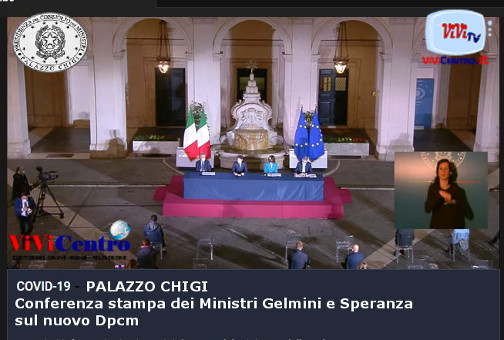 PALAZZO CHIGI, Covid-19, conferenza stampa dei Ministri Gelmini e Speranza sul nuovo Dpcm