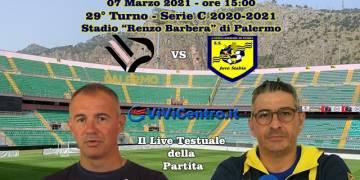 Palermo Juve Stabia live