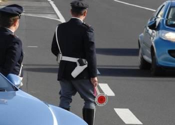 Polizia Stradale per la Campania, campagna ROADPOL seatbelts