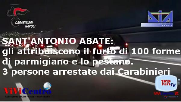 Tre persone arrestate a Sant'Antonio Abate per lesioni personali e rapina