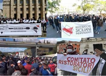 I ristoratori, esercenti, ambulanti dalla Sicilia andranno a Roma a protestare
