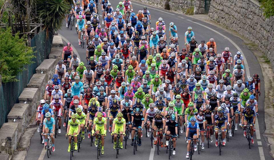 Guardia Sanframondi (Bn): Per la prima volta tappa al Giro d'Italia