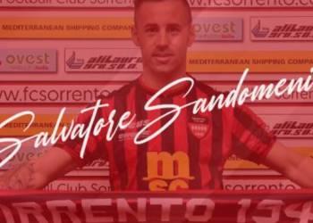 Salvatore Sandomenico, nuovo acquisto Sorrento