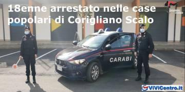 18enne arrestato nelle case popolari di Corigliano Scalo