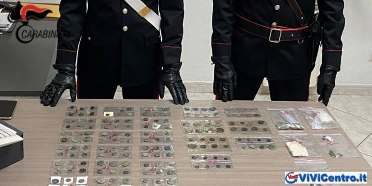 Cirò (KR) Denunciato 80enne, per possesso illecito di monete antiche