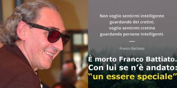 È morto Franco Battiato
