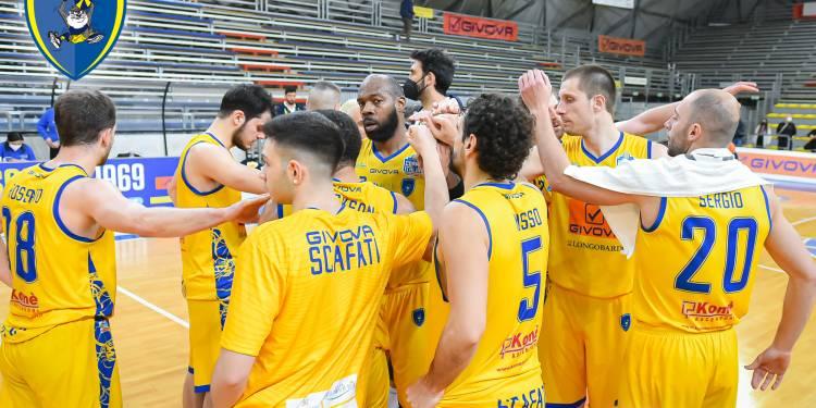Givova Scafati, la squadra a fine gara