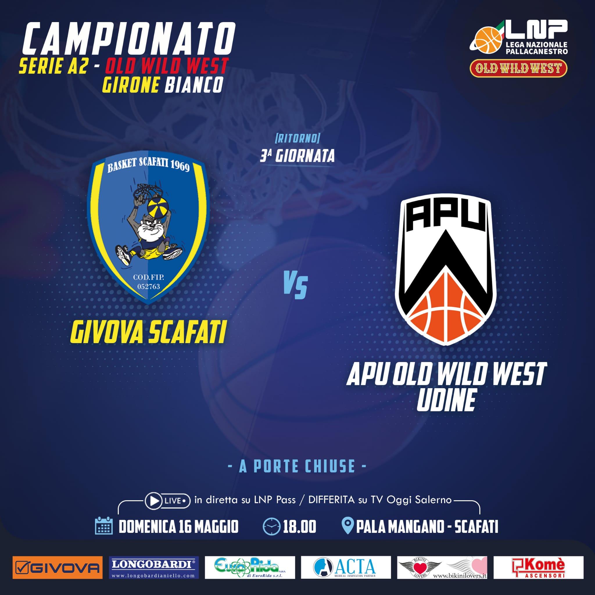 Givova Scafati vs OWW Udine