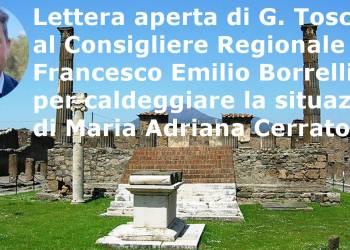 Lettera aperta di G. Toscano