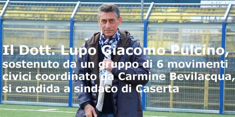 Lupo Giacomo Pulcino si candida a sindaco della città di Caserta